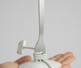 Vorkje prikken met je usb-kabel