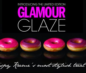Glamour Glaze donut voor London Fashion Week