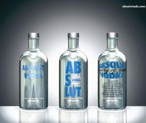 Absolut Vodka limited editions