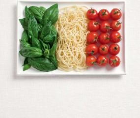 Food advertenties in tijdschriften