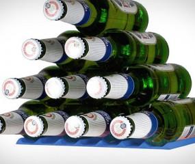 Flesjes in de koelkast: opgeruimd staat netjes!