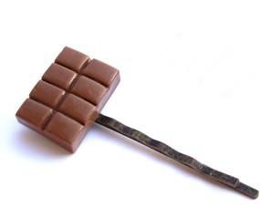 Chocolade in je haar