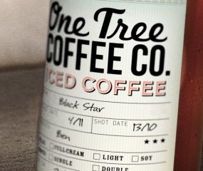 One Tree Coffee to go