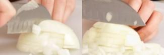Hoe snijd je een ui (zonder te huilen)?