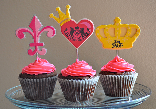 Juicy Couture cupcakes