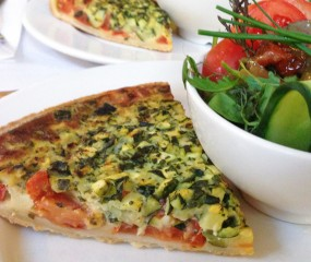 Culy homemade: quiche met tomaat & courgette