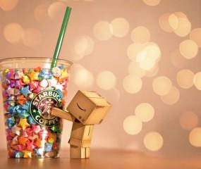 Wat te doen met lege Starbucks bekers?