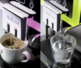 Fleurige espressomachine: de ANIMO OptiBean