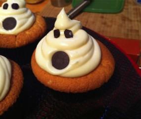 Gespot bij Trakteren: Halloween cupcakes!