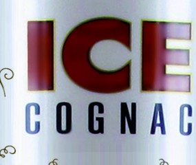 Cognac on the rocks