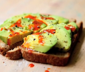 Supersimpele toast met avocado