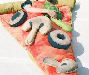 Slapen in een pizzapunt