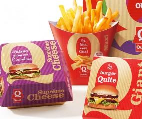 Fastfoodketen Quick gerestyled