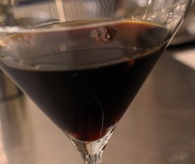Culy Homemade: Chocolade Vodka Martini