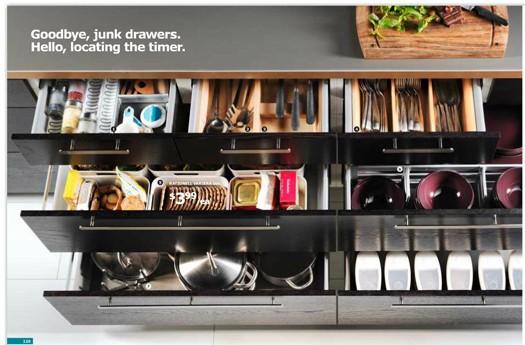 Ikea Accessori Cassetti Cucina : Prachtige opgeruimde keukenlades culy