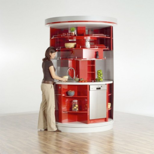 Kitchen Design Ideas For Small Kitchens November 2012: Superslimme Ronde Keuken