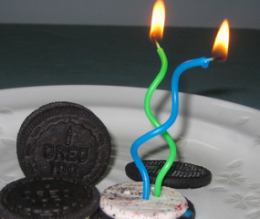 Happy birthday Oreo!