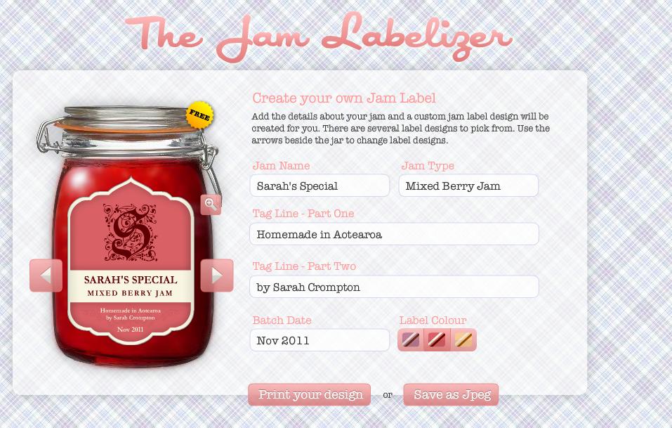 Beroemd DIY: label je jampotjes - Culy.nl BZ09