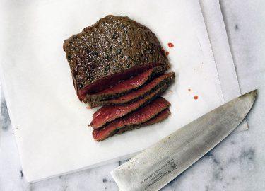 biefstuk garen op lage temperatuur