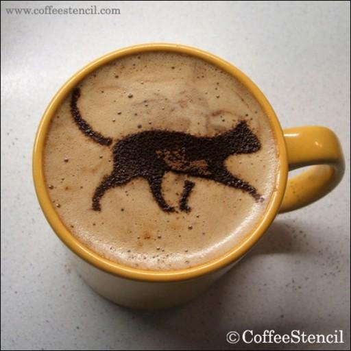 coffee-cat-6 (coffee cat 6 Cats in coffee art)