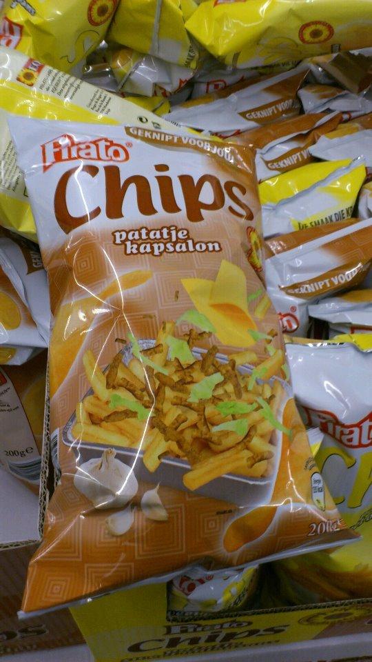 Patatje kapsalon en patatje oorlog chips - Culy.nl