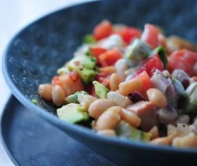 Avocado-limoen salade