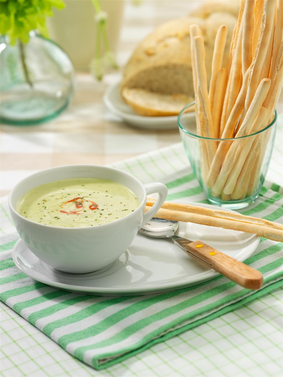 recept soep in een glaasje