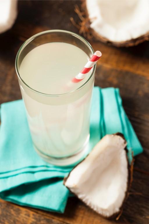 Stock kokoswater