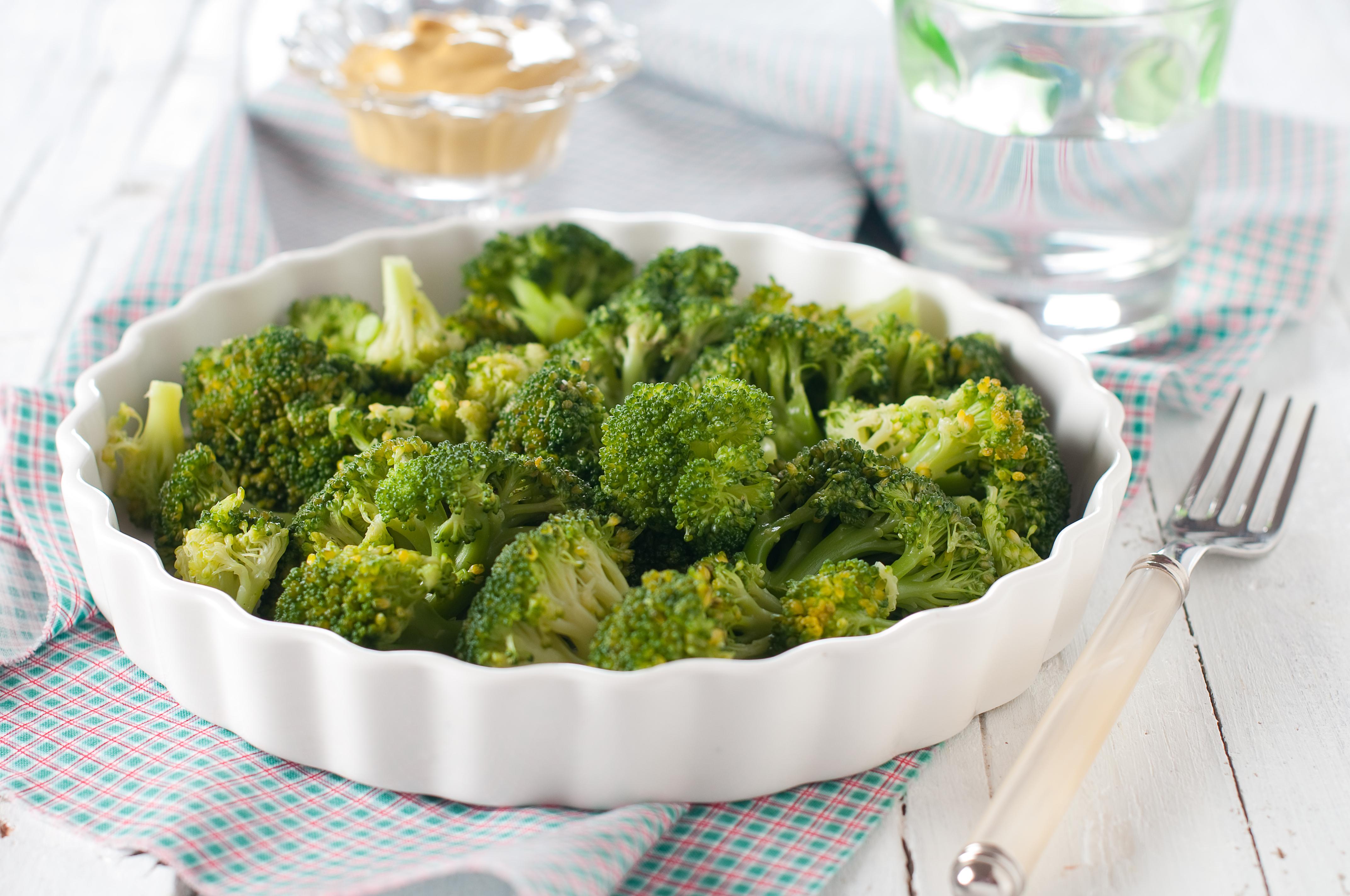 broccoli stomen in stoomoven