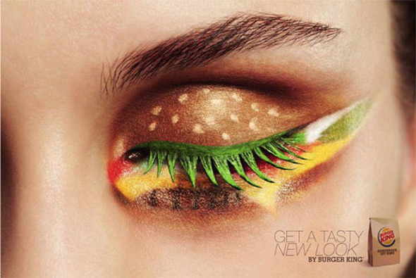 Beauty alert: Burger King op je ogen?