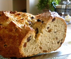 Irish whiskey soda bread