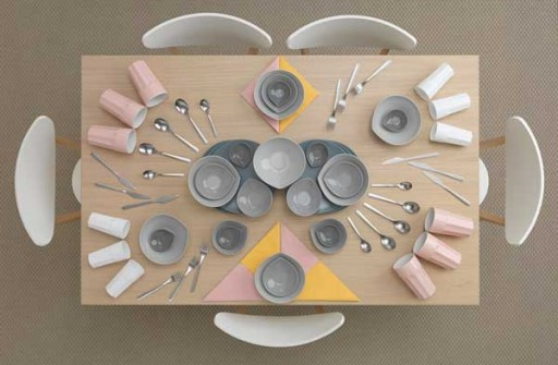 IKEA-Kitchen-Table-Art-by-Carl-Kleiner
