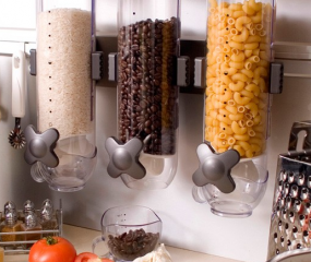 Superstrakke food dispenser