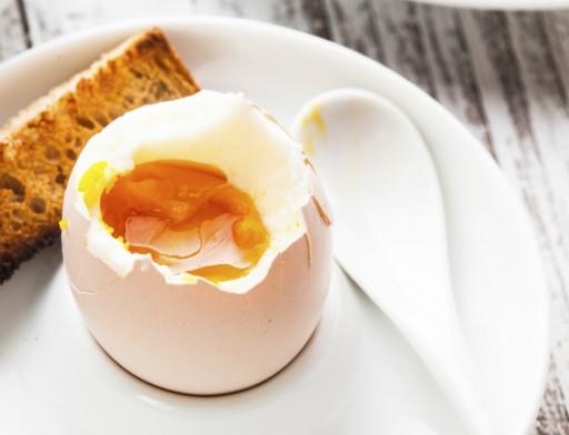 Eieren stock