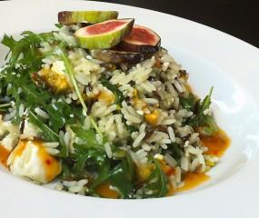 Culy Homemade: wilde-rijstsalade met geitenkaas