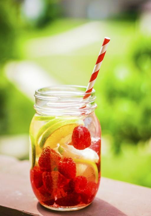 Vruchten drankje stock