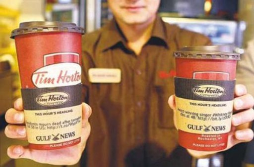 gulf-news-tim-hortons-coffee-sleeves
