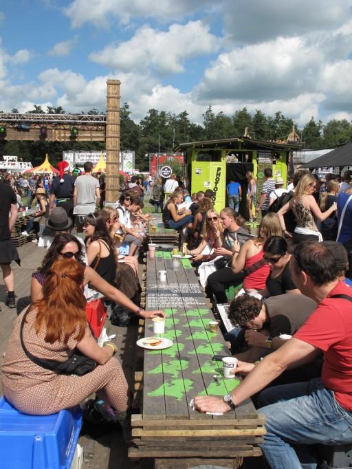Oxfam Novib - Lowlands 2011