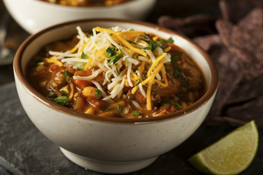 Chili con carne stock