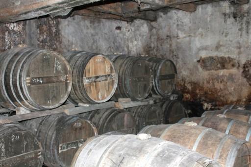 Cognac-kelder-muren