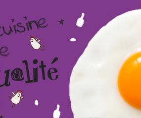 Een restaurant in Parijs met eieren in de hoofdrol