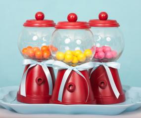DIY: maak je eigen kauwgomballenautomaat