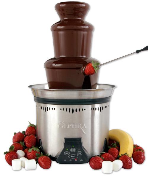 Chocolade voor fontein