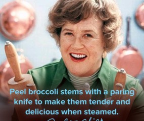 8 geweldige kooktips van Julia Child