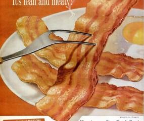 9 x oldschool bacon advertenties