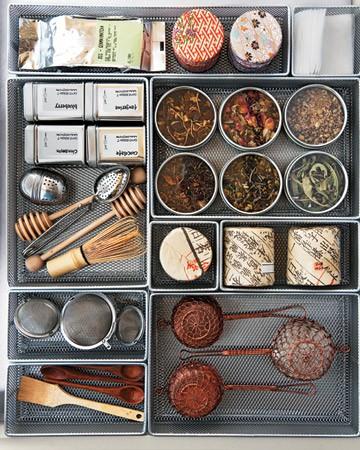 Voor echte theelovers: keukenlades vol thee - Culy.nl