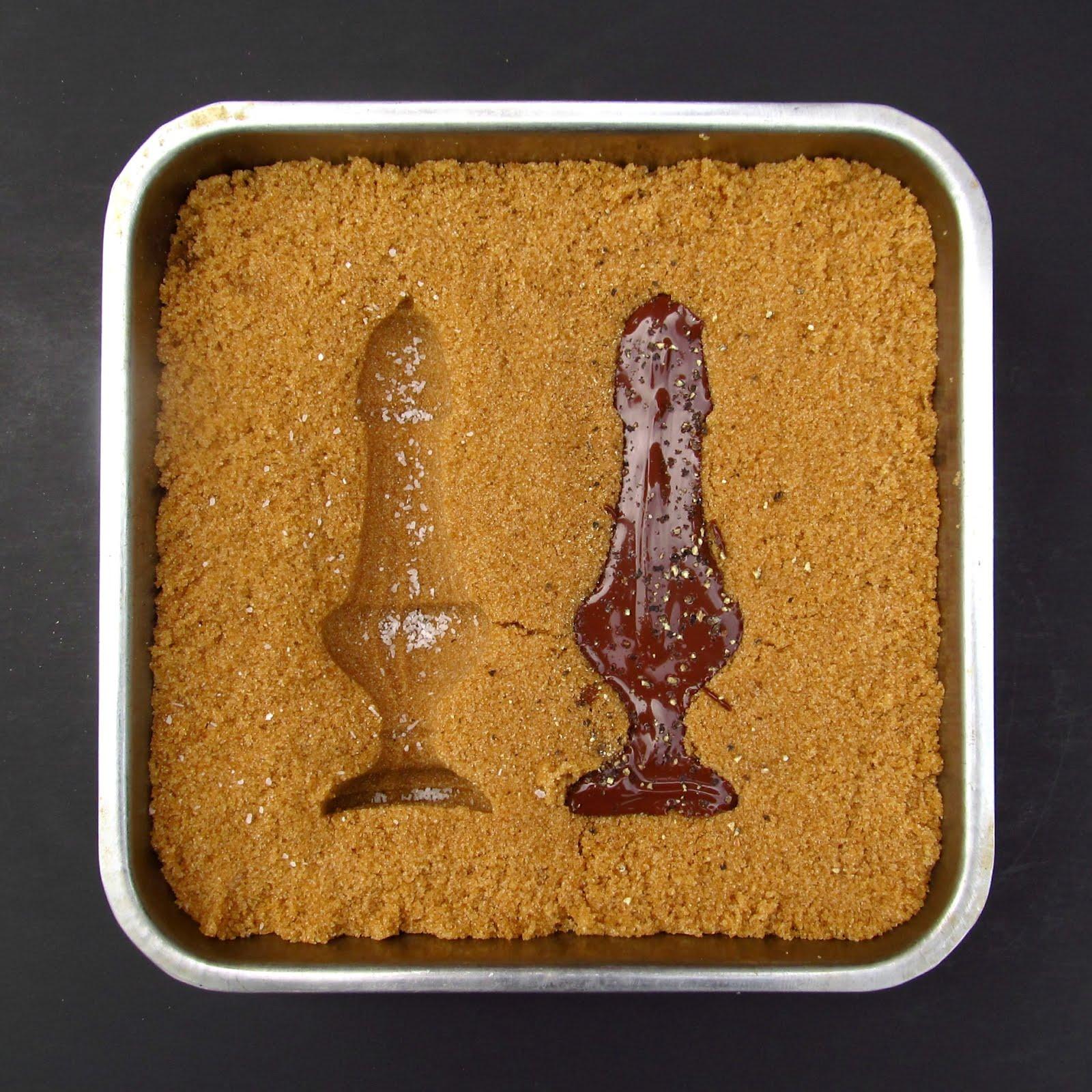 Mold Chocolate Using Brown Sugar