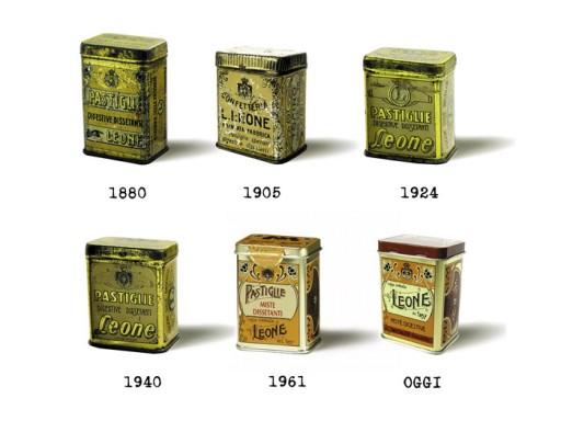 Pastiglie-Leone-door-de-jaren-heen