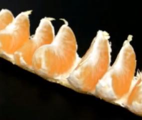 Geniale truc om een mandarijn te pellen