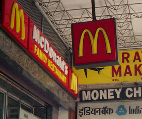 McDonald's opent vegetarische restaurants in India